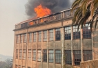 PCU offices on fire